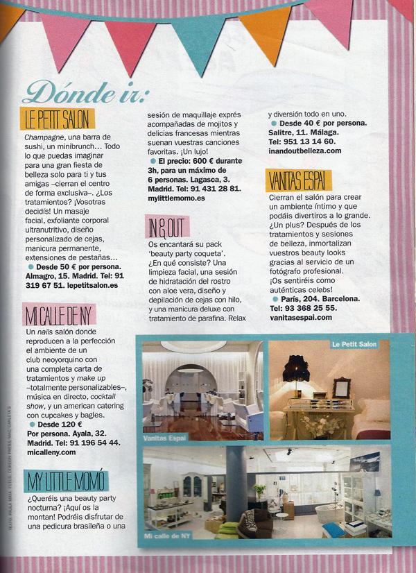 Cosmopolitan Interior Nov 2012