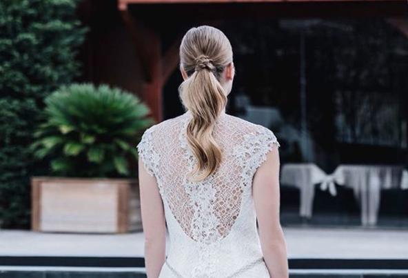 peinados para novias de moda