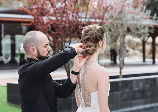 recogido para novia 2019