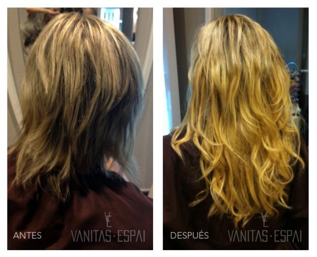 Extensiones de pelo balmain la mejor calidad para tu for Extensiones antes y despues
