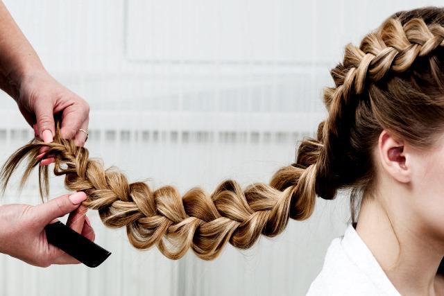 Recogidos para peinados con trenzas