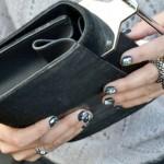 Manicura con foil: una decoración de uñas diferente