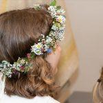 Peinados de comunión para niñas