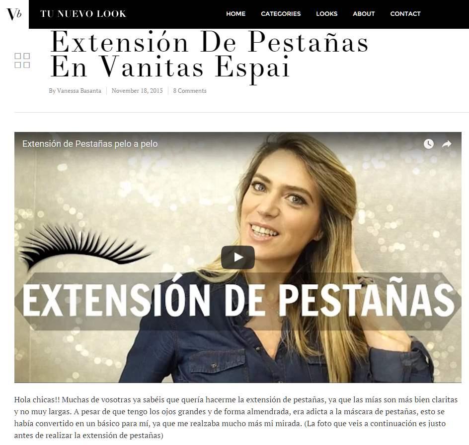 Clip de prensa de Vanitas Espai