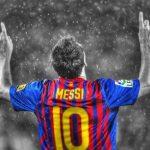 Descubre el peinado degradado de Messi
