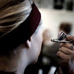 Cómo usamos el aerógrafo para maquillar