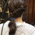 Peinados con coletas bajas