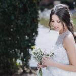 Prueba de peinado y maquillaje para novias