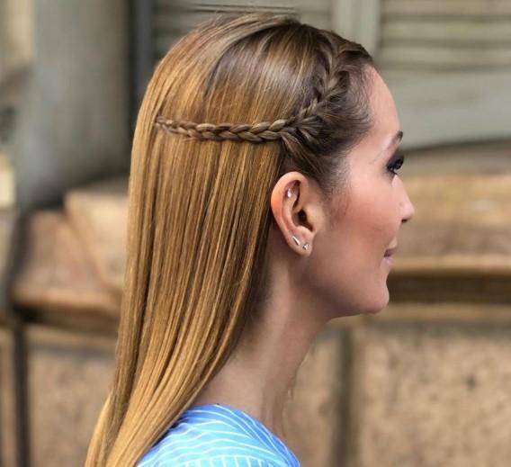 Сharming peinados de trenzas modernas Colección de ideas de color de pelo - Peinados con trenzas: Tendencias 2020 - Vanitas Espai